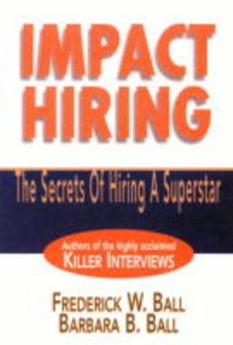9780130319128: Impact Hiring