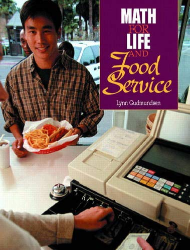 9780130319371: Math for Life and Food Service