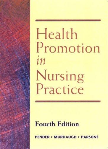 9780130319500: Health Promotion in Nursing Practice