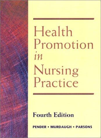 9780130319500: Health Promotion in Nursing Practice (4th Edition)