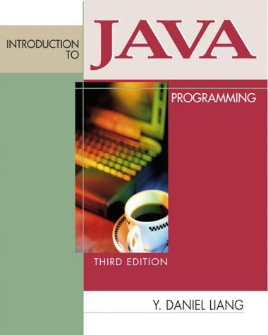 9780130319975: Introduction to Java Programming (3rd Edition)
