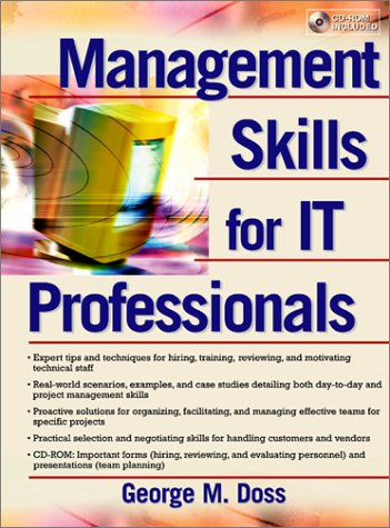 9780130320094: Management Skills for It Professionals
