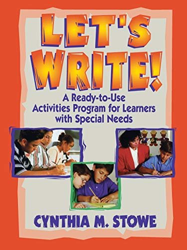 9780130320100: Let's Write: A Ready-to-use Activities Program for Learners with Special Needs