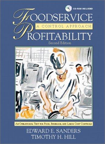 9780130321824: Foodservice Profitability: A Control Approach