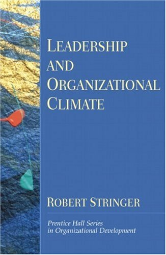 9780130321879: Leadership and Organizational Climate (Prentice Hall Organizational Development Series) (Prentice Hall Series in Organizational Development)