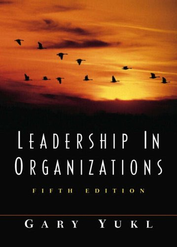 9780130323125: Leadership in Organizations