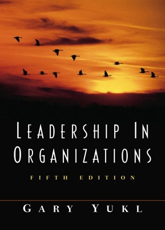 9780130323125: Leadership in Organizations