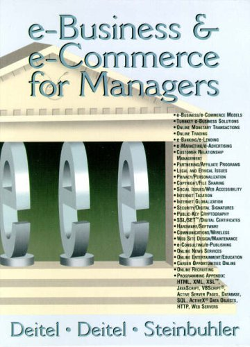 9780130323644: E-Business and e-Commerce for Managers