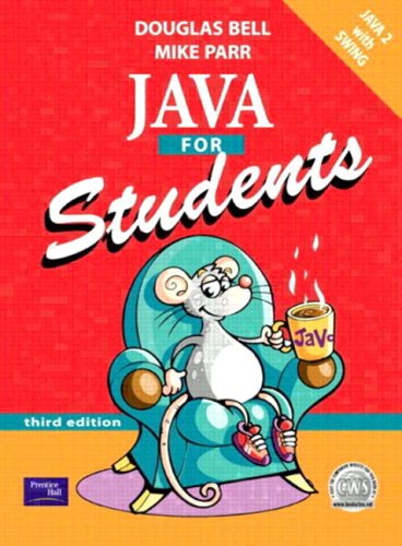 9780130323774: Java for Students (3rd Edition)