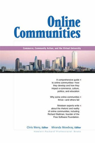 9780130323828: Online Communities: Commerce, Community Action and the Virtual University (Hewlett-Packard Professional Books)