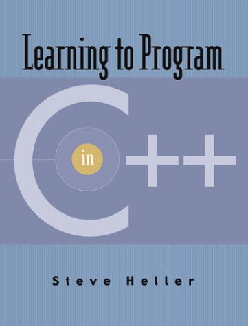 9780130324108: Learning to Program in C++ (CD-ROM)