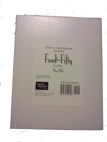 9780130324658: Food for Fifty-Chef Tec Tutor