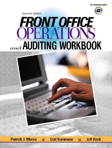 9780130324931: Front Office Operations and Auditing Workbook (2nd Edition)
