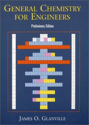 9780130325143: General Chemistry for Engineers, Preliminary Edition
