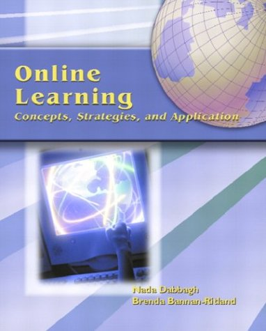 9780130325464: Online Learning: Concepts, Strategies and Application