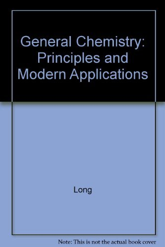9780130325686: General Chemistry: Principles and Modern Applications