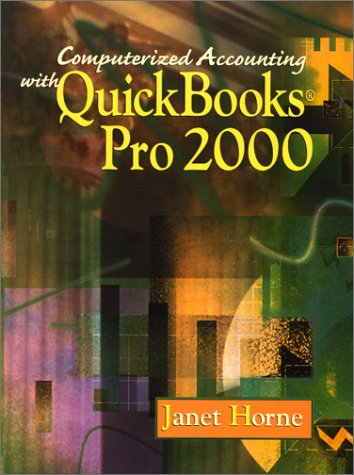 9780130325921: Computerized Accounting and Quickbook 2000 with CD and Student Data