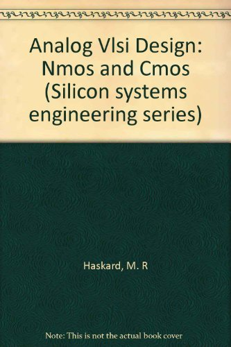 9780130326409: Analog Vlsi Design: Nmos and Cmos (Silicon systems engineering series)