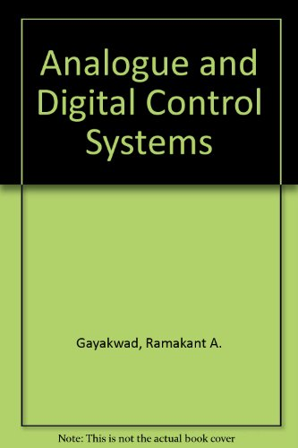 9780130326737: Analogue and Digital Control Systems