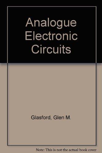 9780130326997: Analog Electronic Circuits
