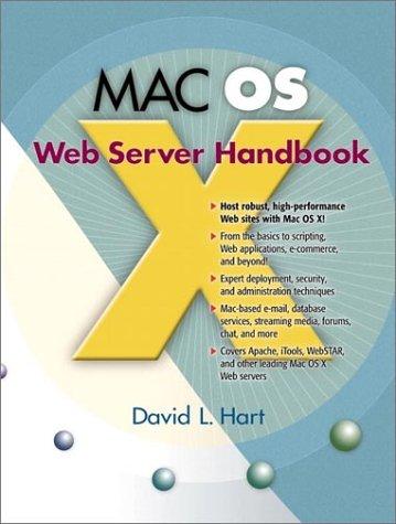 9780130327154: Mac OS X Web Server Handbook