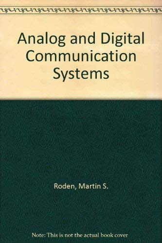 9780130327222: Analog and Digital Communication Systems