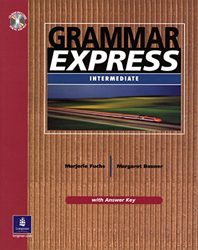 9780130327437: Grammar Express Intermediate with Answer Key (Book & CD-ROM)