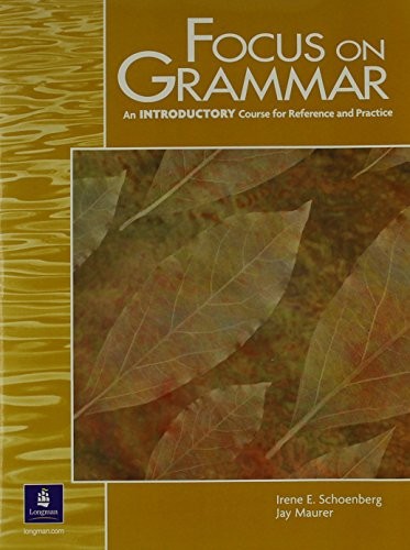 9780130327468: Focus on Grammar: Introductory
