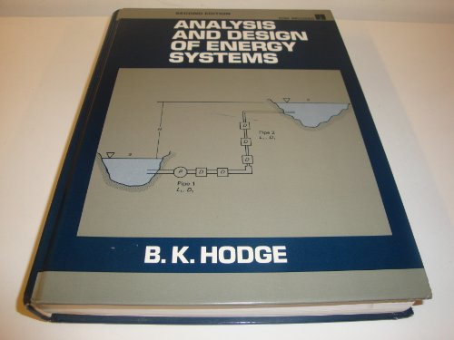 9780130327802: Analysis and Design of Energy Systems/Book and Diskette