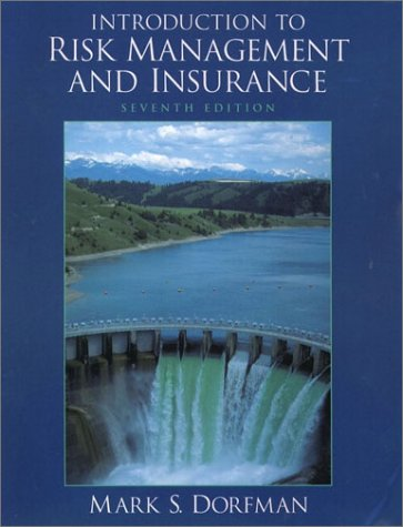 9780130328113: Introduction to Risk Management and Insurance (7th Edition)