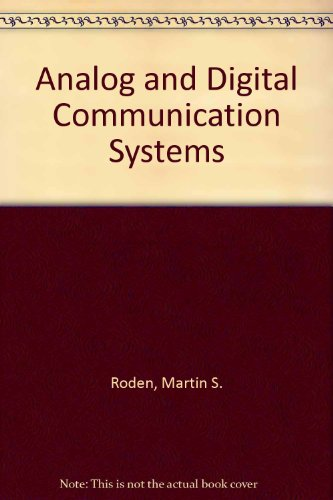 9780130328229: Analog and Digital Communication Systems