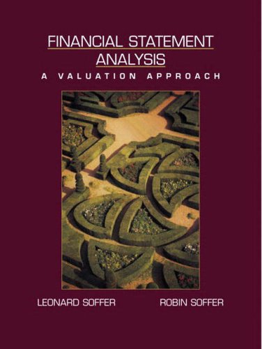 9780130328342: Financial Statement Analysis: A Valuation Approach
