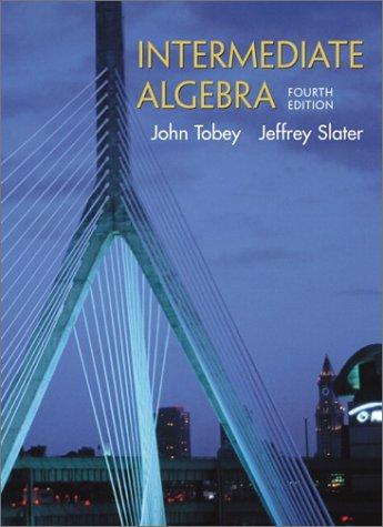 9780130328373: Intermediate Algebra (4th Edition)