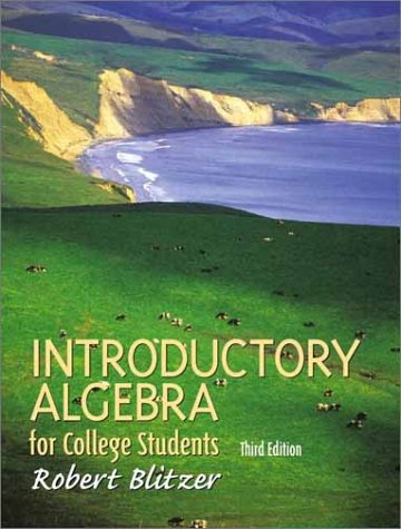 9780130328397: Introductory Algebra for College Students (3rd Edition)