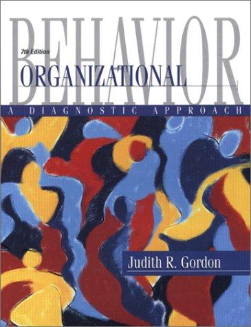 9780130328472: Organizational Behavior: A Diagnostic Approach (7th Edition)