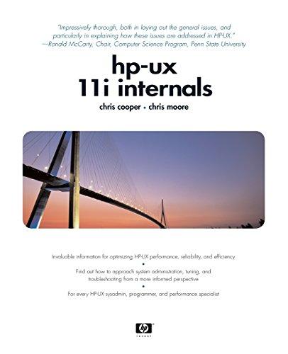 9780130328618: HP UX Internals (Hewlett-Packard Professional Books)