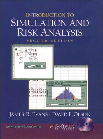 9780130329288: Introduction to Simulation and Risk Analysis