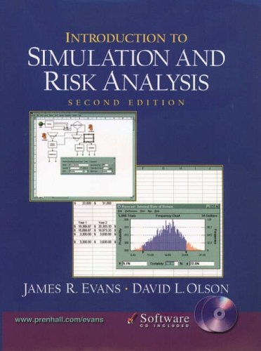 9780130329288: Introduction to Simulation and Risk Analysis (2nd Edition)