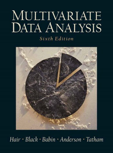 9780130329295: Multivariate Data Analysis