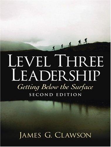 9780130329431: Level Three Leadership (2nd Edition)