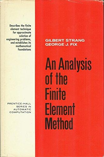9780130329462: Analysis of the Finite Elements Method