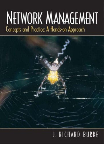 9780130329509: Network Management: Concepts and Practice, a Hands-on Approach