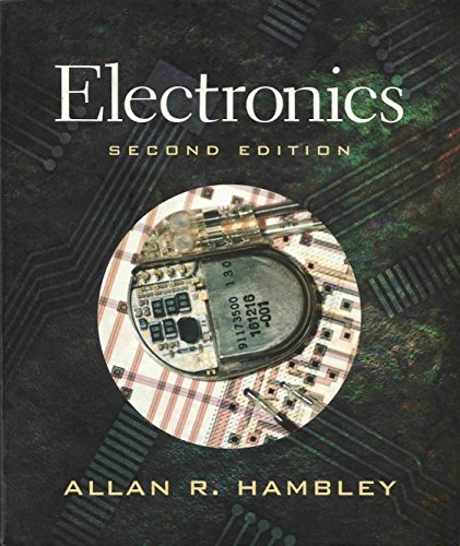 Electronics 9780130329714 The book provides a wealth of readily accessible information on basic electronics for electrical and computer engineering. The introduction and treatment of external amplifier characteristics has been condensed into the first chapter, op amps are treated in a single chapter, and treatment of device physics has been shortened and appears in various chapters on an as-needed basis. For anyone who wants an introduction to electronics.
