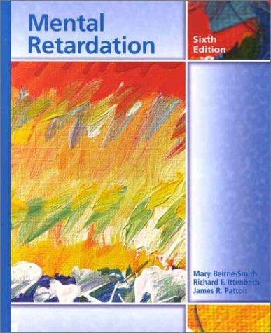 9780130329905: Mental Retardation (6th Edition)