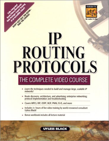 9780130330246: IP Routing Protocols: The Complete Video Course VIDEO BOXED SET