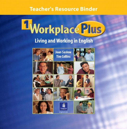 9780130331779: Workplace Plus: Teacher's Resource Binder Level 1: Living and Working in English