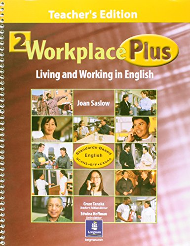 Workplace Plus Living and Working in English: Saslow, Joan M.; Collins, Tim
