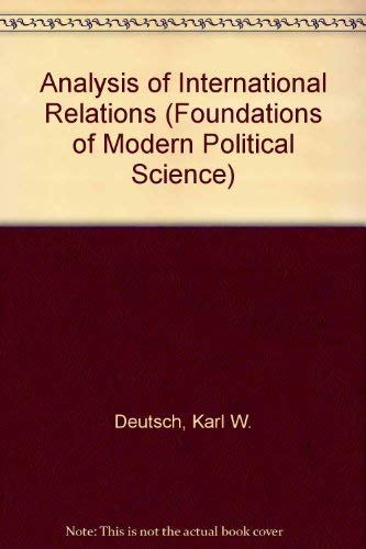 9780130332257: Analysis of International Relations (Foundations of Modern Political Science)
