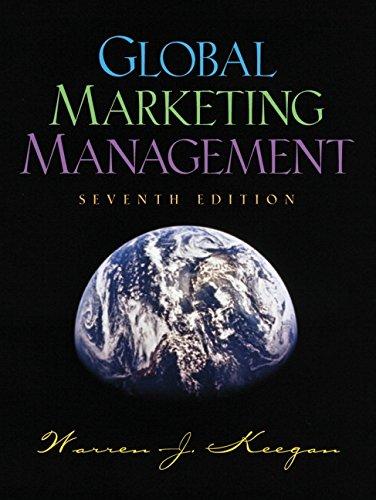 9780130332714: Global Marketing Management