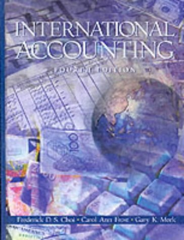 9780130332721: International Accounting (4th Edition)
